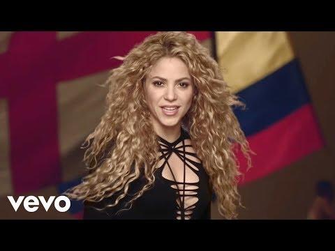 Shakira, la la la Brazil 2014
