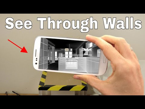 How To Use Your Smartphone to See Through Walls! Superman's X-ray Vision Challenge