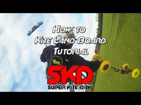 How To Kite Land Board Tutorial FULL video
