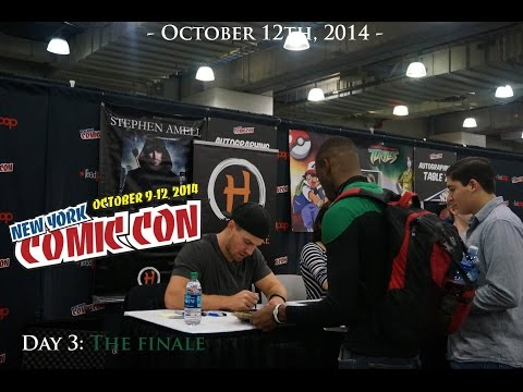 New York Comic-Con 2014 - Day 3: The Finale (NYCC 2014)