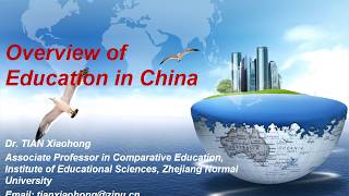 Overview of Education in China New