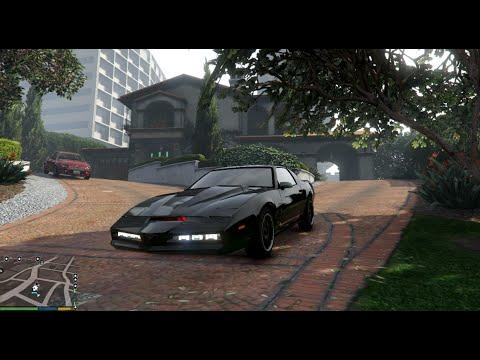 GTA V Knight Rider Kitt Drive