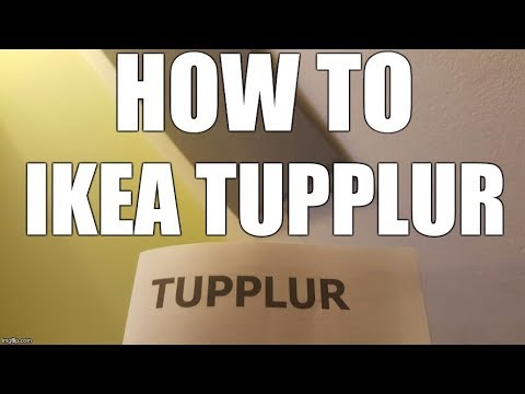 HOW-TO mount IKEA TUPPLUR blind roller