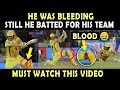 Download IPL 2019 Final : Shane Watson played with Bleeding Knee | Heart Breaking Video 💔 | Blood | Respect MP3,3GP,MP4