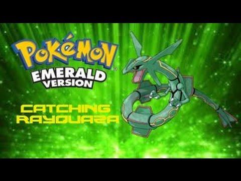 Pokemon Emerald: How to Catch Rayquaza