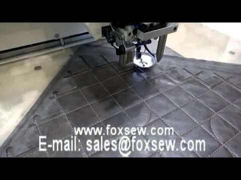 Programmable Pattern Sewing Machine for Leather