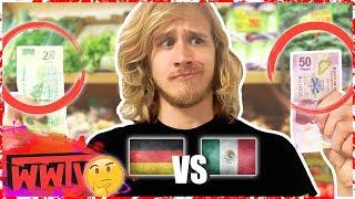Compras con $250 MXN en ALEMANIA VS en MÉXICO │ Cuánto podemos comprar? │ WeroWeroTV