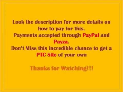 Want your own PTC Site - Watch this!!!