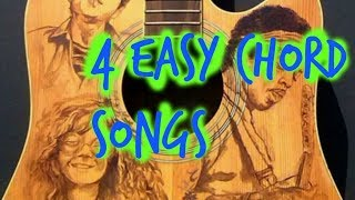4 Must Know beginner chords (Plus cool tricks)