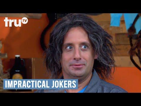 Impractical Jokers: After Party - Joe Wears Q's Hair | truTV