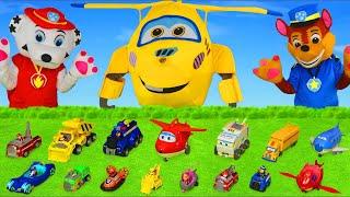 Super Wings jouets - Pat Patrouille jouets - Le Pompier - Paw Patrol Toys Unboxing for kids
