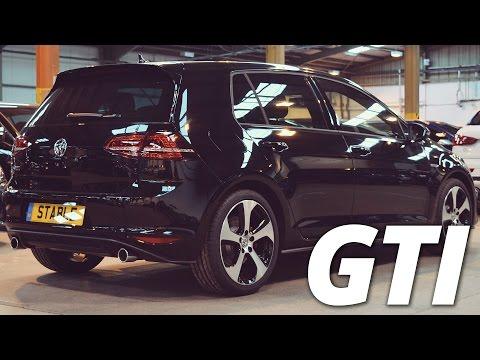 2016 Volkswagen Golf GTI Mk7 Black Walk Around 2.0 TSI 220ps
