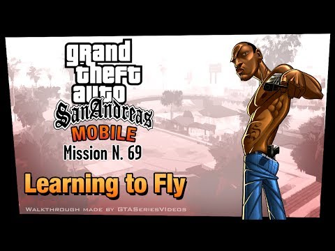 GTA San Andreas - iPad Walkthrough - Mission #69 - Learning to Fly [Gold Medals] (HD)