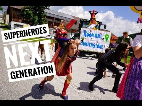 SUPERHEROES NEXT GENERATION - KRONEHIT SCHULCHALLENGE