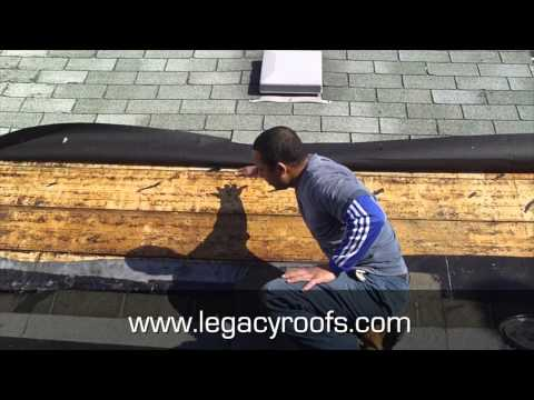 Flat Roof and Shingle Roof tie in Strathroy Ontario - Legacy Flat Roofing & Sheet Metal
