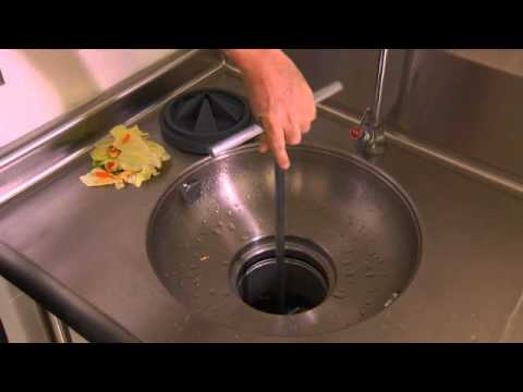 Operating an InSinkErator Foodservice Disposer