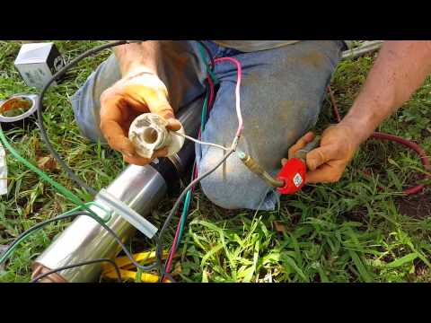 how to replace a submersible pump