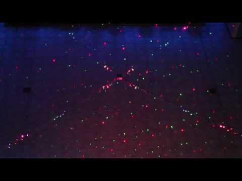 Led pixels strips and laser christmas lights