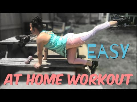 Easy At Home Workouts    Stay At Home Mom