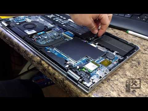 How to open HP Envy m6 laptop - hard drive replacement