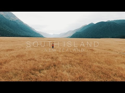 South Island, New Zealand - CINEMATIC TRAVEL FILM