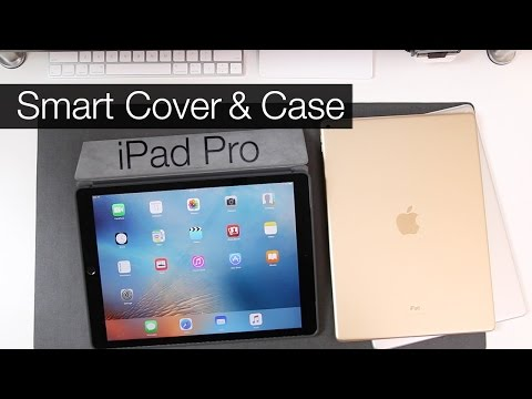 Apple iPad Pro: Smart Cover & Silicone Case