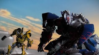 Transformers El último Caballero Trailer Super Bowl Stop Motion (Castellano)