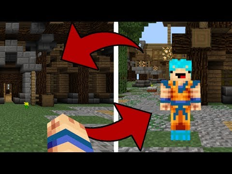 THE FASTEST WAY TO SWITCH FROM FIRST PERSON TO THIRD PERSON IN MCPE!!