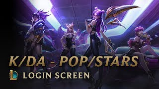 K/DA - POP/STARS (ft Madison Beer, (G)I-DLE, Jaira Burns) | Login Screen - League of Legends