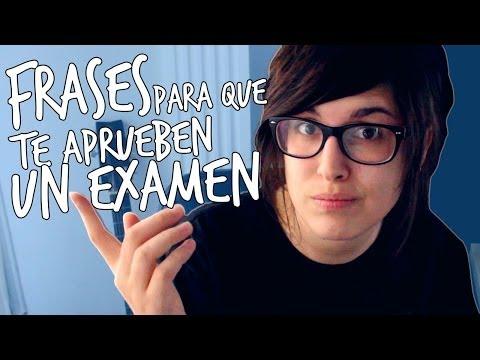 Frases Para Que Te Aprueben Un Examen |YellowMellow