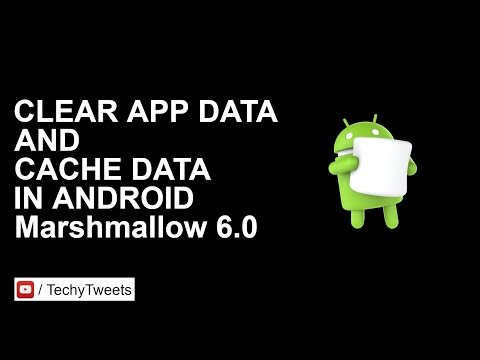 How to clear app cache and app data in Android 6 0 Marshmallow
