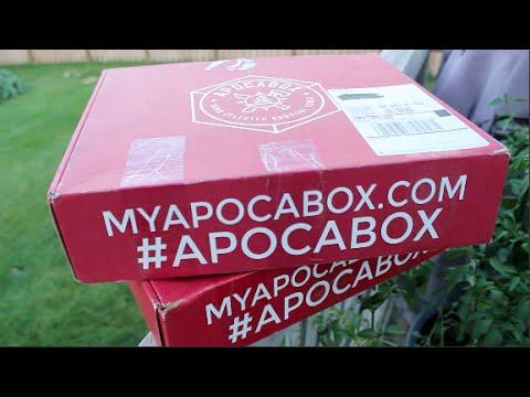 Apocalypse Survival Kit -- Apocabox   Budget-Friendly, Bushcraft and Survival Tools