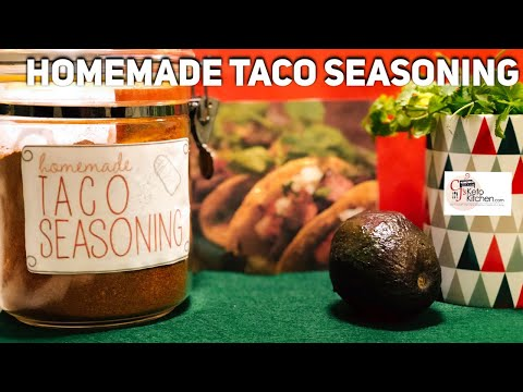 Homemade Taco Seasoning - No Fillers