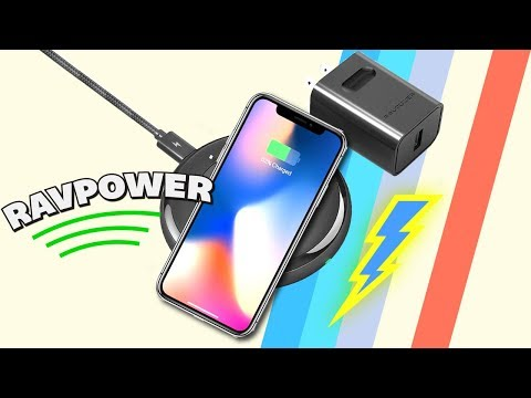 iPhone X FAST WIRELESS CHARGING! + Giveaway [RAVPower]