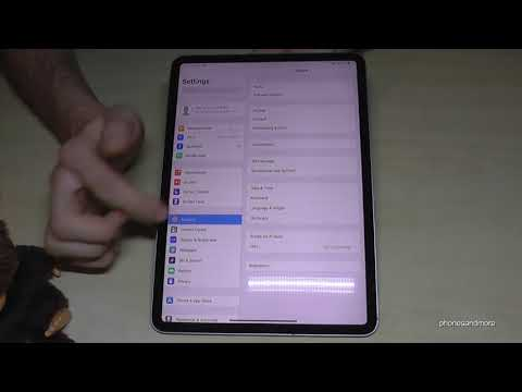 Apple iPad Pro 2018: How to change the language? works also for the A9