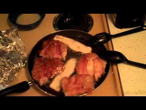 Pro at Cooking: Bacon Wrapped Chicken