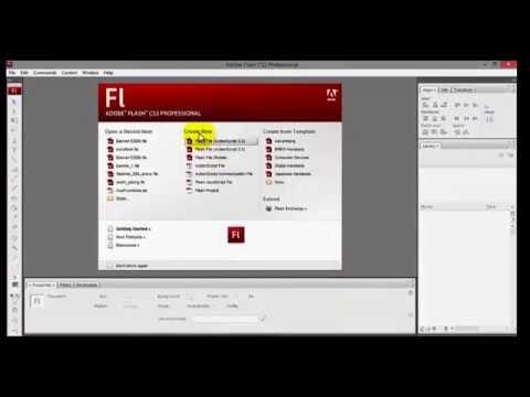 Cara Membuat Flash Banner Website Dengan Flash CS3 Bag 1 - hedohartoko TUTORIAL