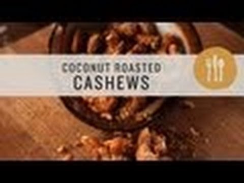 Superfoods - Coconut Roasted Cashews