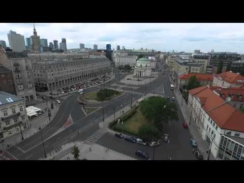 Sheraton Warsaw Hotel from bird's eye view | Sheraton Warsaw Hotel