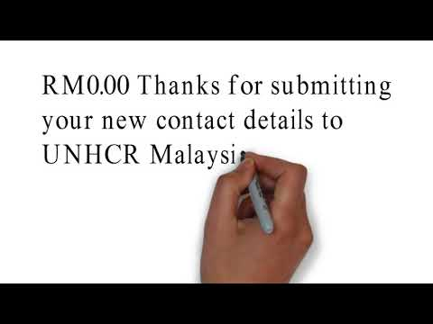 How to change Phone No. to UNHCR Malaysia