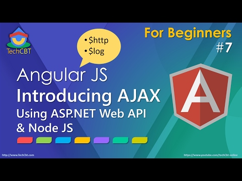 AngularJS: AJAX using ASP.NET Web API & Node.JS