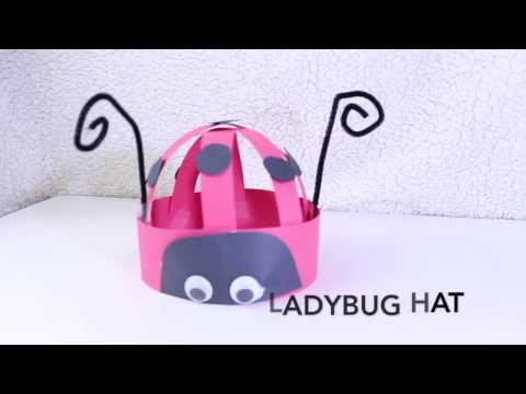 Ladybug Hat Kids Craft