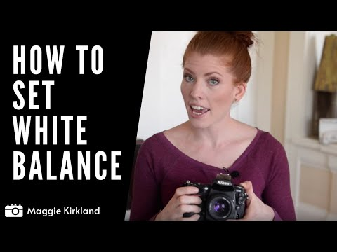 How To Set Your White Balance on your DSLR Camera - Kelvins  | Photography Hacker