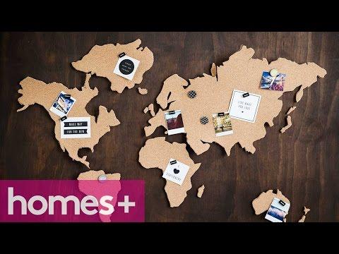 PRACTICAL IDEA: Cork map - homes+