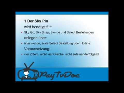 Worin unterscheiden sich die Sky Pin Arten?
