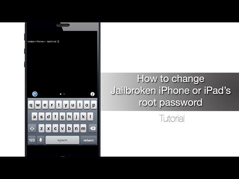 How to change Jailbroken iPhone or iPad's root password - iPhone Hacks
