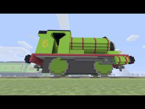 MINECRAFT Build Of Percy the Small Engine