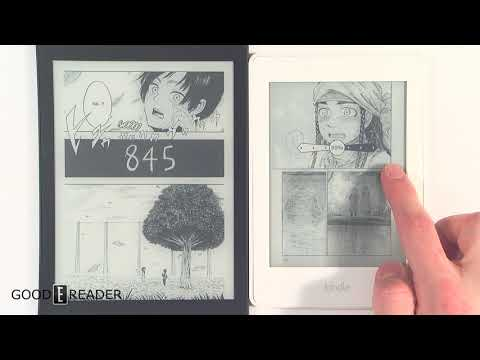 Kobo Aura One Limited Edition 32GB vs Kindle Manga Model