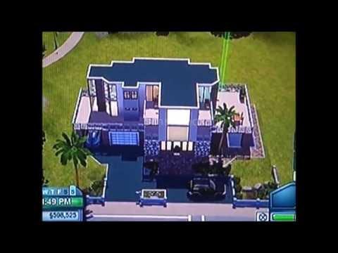 Sims 3 (Xbox 360) - Modern Family Home