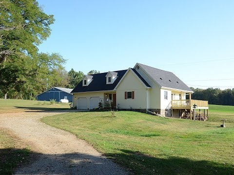 20 Acre Farm with Newly Updated Home for Sale in Horton, Michigan